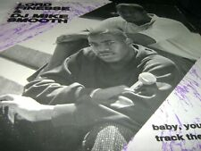"""LORD FINESSE & DJ MIKE SMOOTH Baby You Nasty/Track The Movement 12"""" Wild Pitch"""