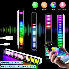 Stimmaktivierte Tonabnehmer Rhythmus Lichter Musik Umgebungslicht Klangsteuerung