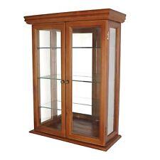 Design Toscano Wall Curio Cabinet Hanging Display Case Curio Mirror Collectibles