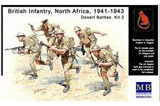 MasterBox MB3580 1/35 British Infantry in action Northern Africa, WW II era