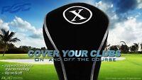 New X Wholesale Black Neoprene Fairway Wood Fw Golf Club Headcover Head Cover