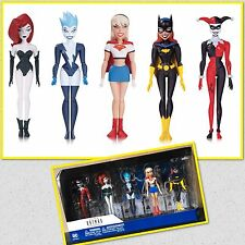 BATMAN ANIMATED NBA GIRLS NIGHT OUT AF 5 PACK DC COMICS