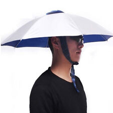 Foldable Headwear Sun Umbrella Hats Cap Hands Free For Fishing Hiking Beach