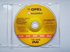 Werkstatthandbuch CD Opel TIS Agila - Zafira letzte Version