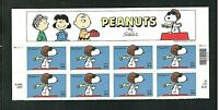 Sc # 3507 ~ Header Plate # Block of 8 ~ 34 cent Peanuts Issue (df25)