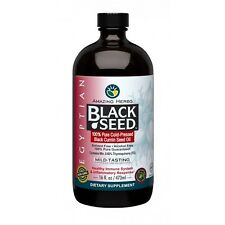 Amazing Herbs Egyptian Black Seed 100% Pure Cold-Pressed Oil  16oz