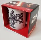 Boxed Star Wars 'Droids' Ceramic Mug - Fathers Day/Dads birthday BRAND NEW