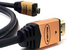 Ricable Micro M3 Cavo HDMI 1.4 High Speed 3D HDMI / Micro HDMI - 3 Metri