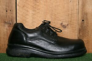 RED WING Model 6618 Black Leather SD Steel Toe Oxfords Works Shoes
