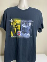Pittsburgh Steelers Super Bowl T Shirt Men's Size Large Black