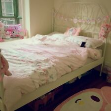 My Melody Bedding Set Cover and Pillow Case Kawaii Pink Flat/Fitted Sheet Set