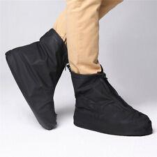 Reusable Durable PVC Rain Boot Shoe Covers Outdoor Bike Non-slip Overshoe Unisex