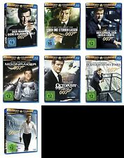 007 x JAMES BOND Complete Collection ROGER MOORE Edition BLU-RAY Sammlung New