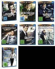 007 x JAMES BOND Complete Collection ROGER MOORE Edition BLU-RAY Sammlung Neu