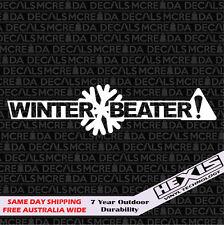 Winter Beater Car Sticker Decal For JDM Stance Drift Illest Hoonigan AWD Subaru
