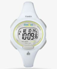 NEW Timex Women's Ironman Essential 10 Mid-Size White Resin Watch #3 FREE SHIP