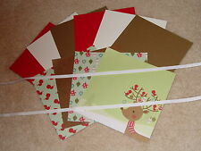 Stampin Up & The Paper Studio Woodland Wonderland Deer Card Kit *6* Brand New