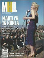 MHQ Winter 2020 Marilyn Monroe in Korea James M. Cain NM No Label