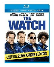THE WATCH NEW BLU RAY + DVD MOVIE 2-DISC SET COMEDY FILM BEN STILLER JONAH HILL