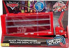 Disney Cars Micro Drifters Mack Transporter Rolling Display Case