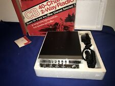 Realistic TRC-428 Vintage CB Radio Am New in Box Collector or Use