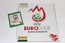 Panini EM EC Euro 2008 08 – 1 x Leeralbum EMPTY ALBUM vuoto ED. EASTERN EUROPE