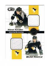 2001-02 Pacific Heads Up Quad Jerseys  #29 Kovalev/Roszival/Parent/Kasparaitis