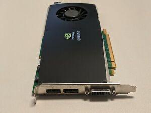 HP NVidia Quadro FX 3800 1GB GDDR3 PCIe 2.0 x16 Video Card Dual-DisplayPort/DVI