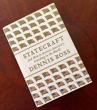 Statecraft Dennis Ross SIGNED HC 2007 1st Edition