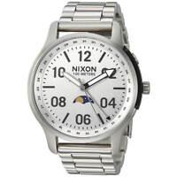 Nixon A12081920 Men's Ascender Silver Tone Dial Bracelet Watch