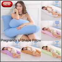 Comfort Pregnancy Pillow Maternity Belly Contoured Body U-Shape Extra Pregnant