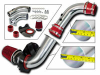 BCP RED 94-98 Mustang 3.8L V6 Cold Air Intake Induction Kit + Filter