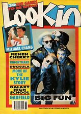 Look-In Magazine 2 September 1989    Big Fun    Michael Chang    Neneh Cherry
