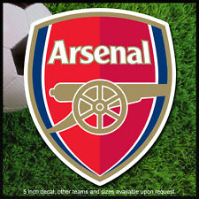 Arsenal decal sticker soccer football gunners UEFA calcomania