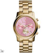 Michael Kors MK6161 Runway Reloj De Mujer Cronógrafo Acero Inoxidable Color :