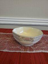 "Lenox Charleston Fine china 5.5"" bowl small. Decorated with Platinum"