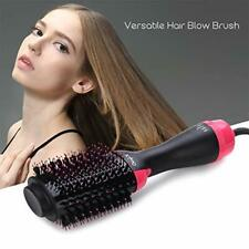 Brosse Soufflante Sèche-cheveux 1000W Brush/Peigne Lissante Chauffante Ionique