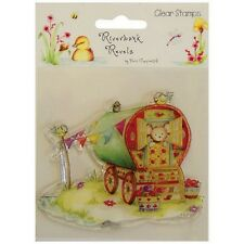 HELZ CUPPLEDITCH RIVERBANK REVELS CLEAR STAMP - CARAVAN
