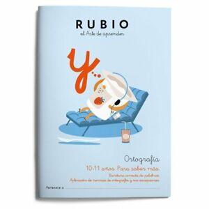 Ortografía Rubio 6 -  10-11 Años