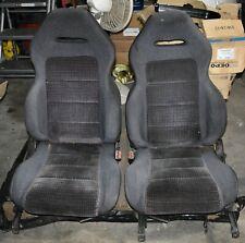89-94 Suzuki Swift GTi GT FRONT SEATS - Recaro Interior Racing Bucket OEM RARE!