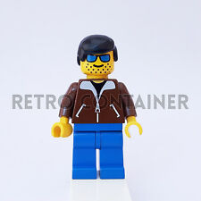 LEGO Minifigures - 1x jbr006 - Man with Brown Jacket - Omino Minifig Set 6665