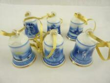 More details for bradford editions/rosenthal traditional christmas bells x 6 1910-12 & 1913-15