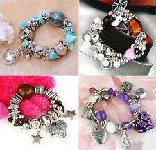 Mixed Metals Bangle Plastic Costume Bracelets