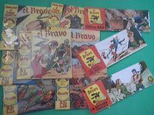 CZ Lotto Fumetti Strisce Albi EL BRAVO Anastatica