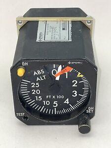 Sperry RA-15 Aircraft Radio Altimeter Gauge P/N 7000839-902