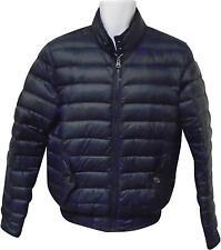 Utilizado Para Hombre Tommy Hilfiger Navy Puff Bomber estilo chaqueta tamaño pequeño (M. F)