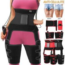 3 in 1 High Waist Trainer Thigh Trimmer Shaper Exercise Fat Burning Sweat Sauna
