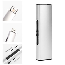 USB Lighter Rechargeable Electronic Lighter Metal Cigarette Turbo Lighter Flame