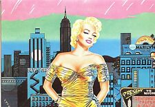 CP / POSTCARD / ILLUSTRATEUR / MARILYN MONROE GENTLEMEN PREFER BONDES PAR ZAPPY
