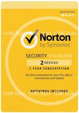 Symantec Norton Internet Security (2 User, 1 Year)